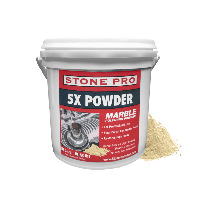 5x polishing powder for marble