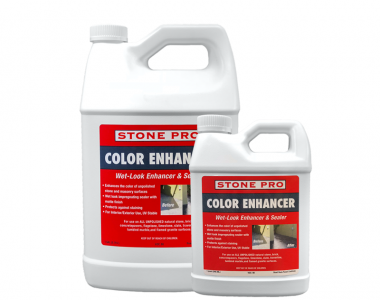 color enhancer and sealer for natural stone
