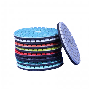 3 inch power flex diamond pads