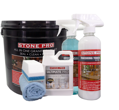 COUNTERTOP WARRANTY CARE KIT - SEAL GRANITE COUNTERTOPS