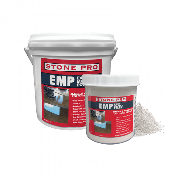 EMP Easy Marble Polish Powder for marble and travertine
