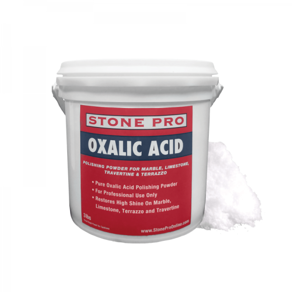 oxalic acid polishing powder for marble limestone travertine and terrazzo
