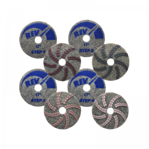 REV Diamond Resin Polishing Pads