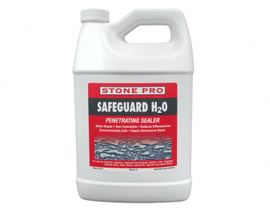 safeguard h2o natural stone penetrating sealer