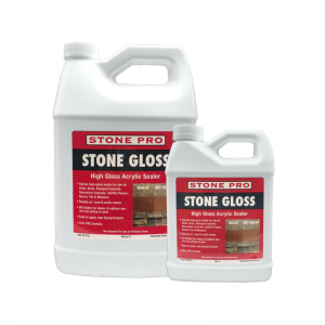 stone gloss high gloss acrylic sealer