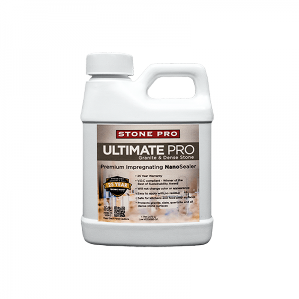 ultimate pro granite and dense stone impregnating nanosealer