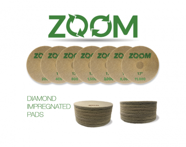 Zoom Diamond Impregnated Pads DIP