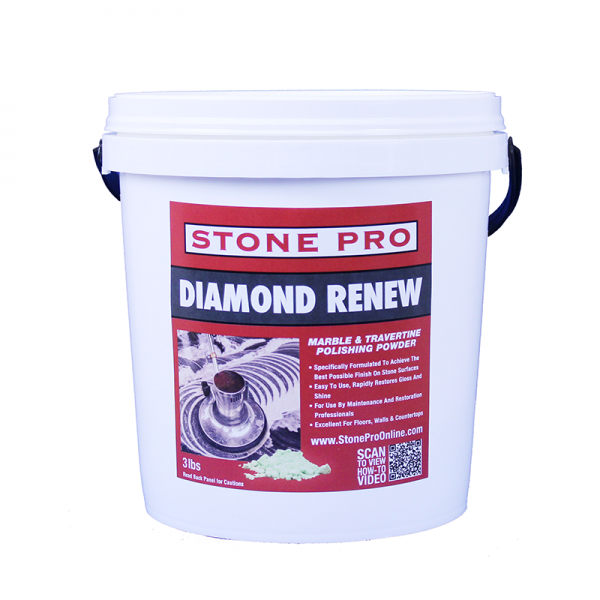 diamond renew marble and travertine polishing powder
