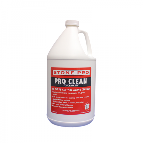 pro clean neutral stone cleaner