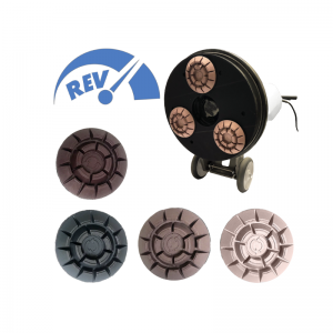 rev 5 inch pucks resin diamond pads
