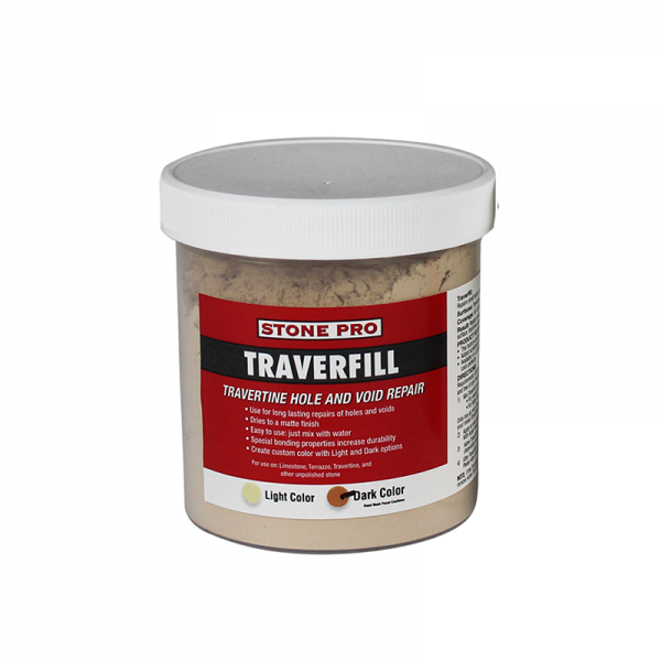 traverfill travertine hole and void repair