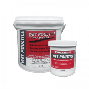 wet poultice oil stain remover for natural stone