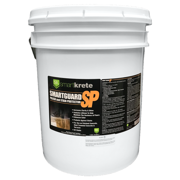 smartguard polish and stain protection for concrete