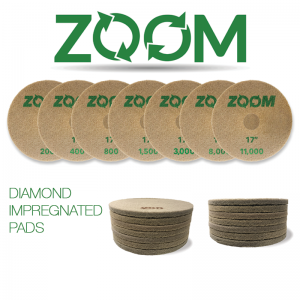 ZOOM Diamond Impregnated Pads