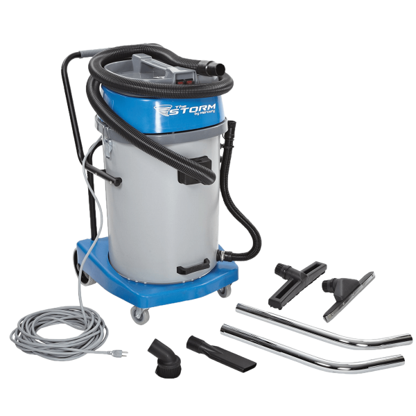 storm wet/dry vacuum with tools