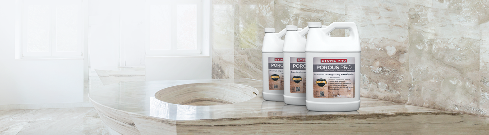 porous pro travertine sealer